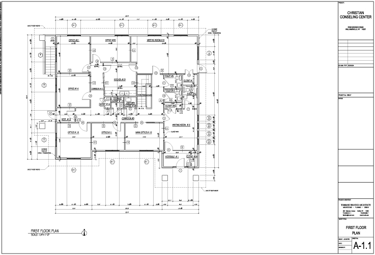 Plans A-1.1 First Floor Plan (1)